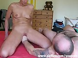 Housewife with large pussy